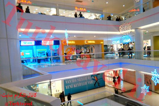 مرکز خرید جدید وان - سفرنامه وان - آقای بابک خسروی