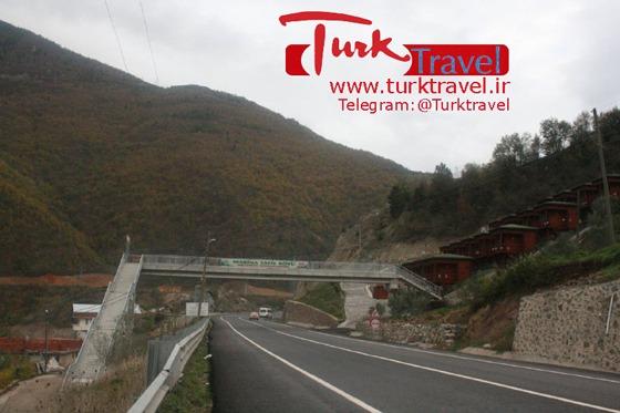 جاده های جنگلی ترکیه