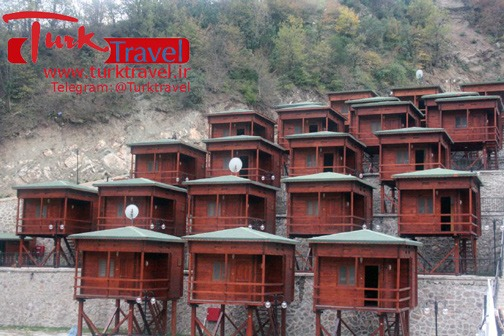 اقامتگاههای جنگلی ترکیه