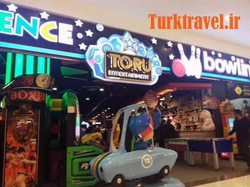 شهر بازی مرکز خرید وان