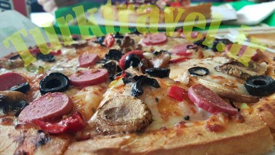 قیمت پیتزا در وان