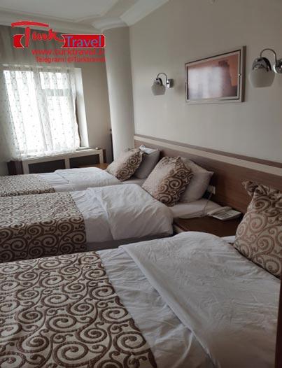 صدور آنی واچر هتل در وان - سفرنامه نوروزی وان از خانم مهرنوش