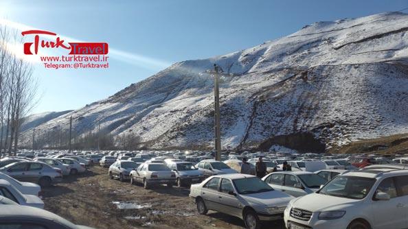 پارکینگ مرز رازی - سفرنامه نوروزی وان از خانم مهرنوش