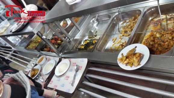 رستورانهای معروف وان - سفرنامه نوروزی وان از خانم مهرنوش