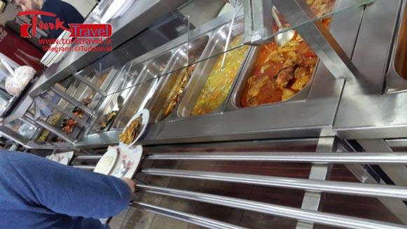 غذا خوری های معروف وان - سفرنامه نوروزی وان از خانم مهرنوش