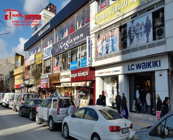 مراکز عمده فروشی پوشاک در وان - سفرنامه نوروزی وان از خانم مهرنوش
