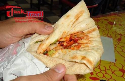 قیمت دوروم مرغ در ترکیه - سفرنامه نوروزی وان از خانم مهرنوش