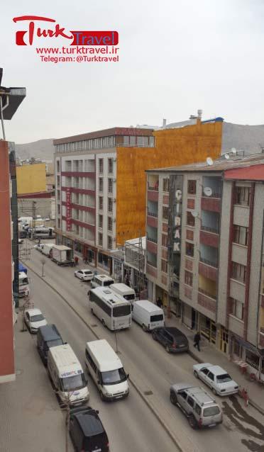 خیابان زبیده خاتون در وان