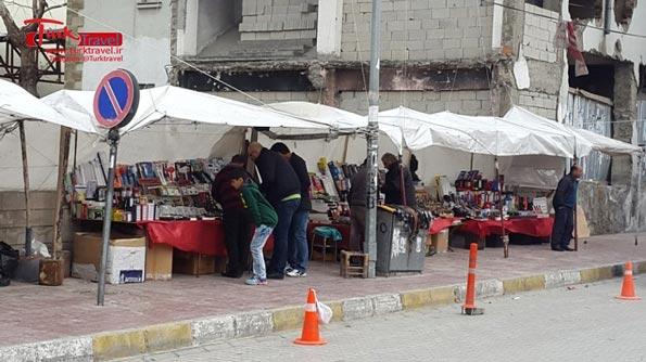 خرید از دستفروشها در وان