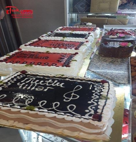 کیک تولد وان ترکیه