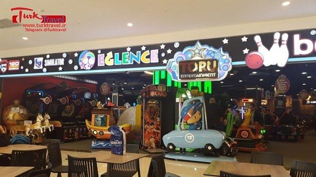 شهر بازی در طبقه آخر مرکز خرید وان