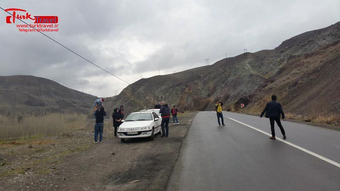 جاده قطور به خوی - سفرنامه نوروزی وان از خانم مهرنوش
