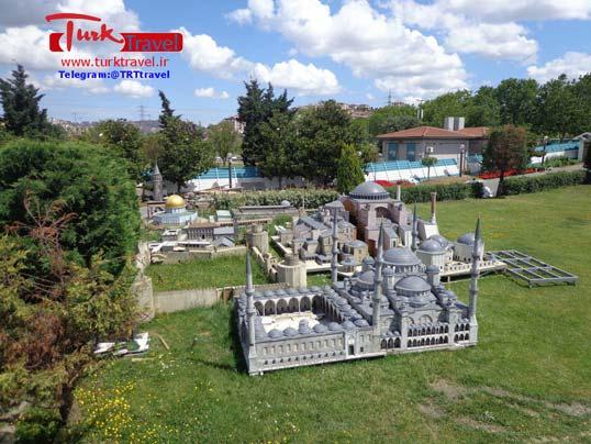 ماکت قونیه در پارک - سفرنامه استانبول - قونیه و کاپادوکیا