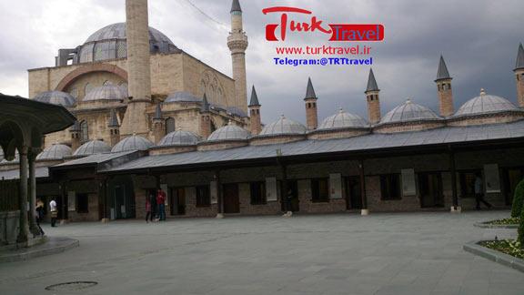 آرامگاه مولانا در قونیه -سفرنامه استانبول - قونیه و کاپادوکیا
