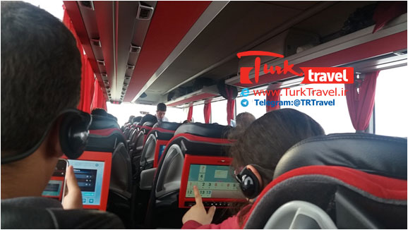 خرید بلیط اتوبوسهای داخلی ترکیه - سفر زمینی به ترابزون و باتومی