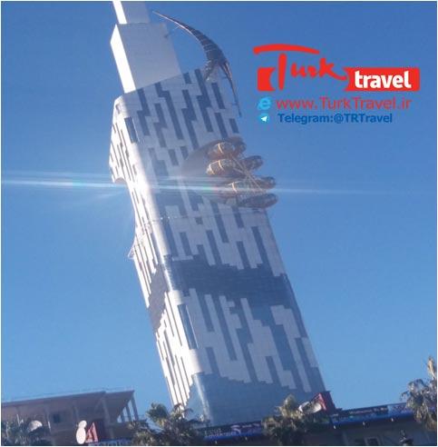 برج مدرن باتومی