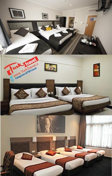 انواع اتاق چهار نفره در هتل