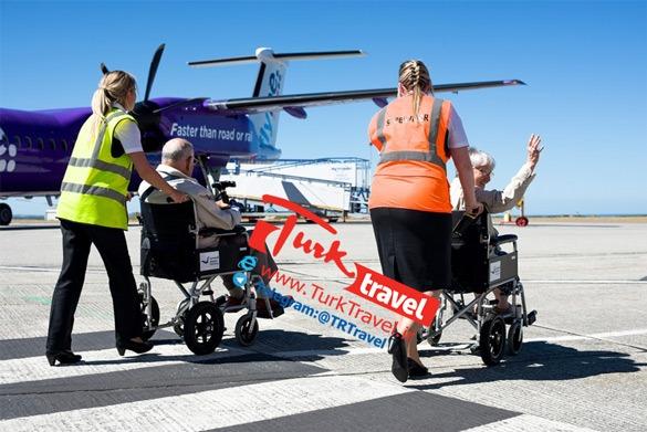 تسهیلات سفر هوایی برای معلولین