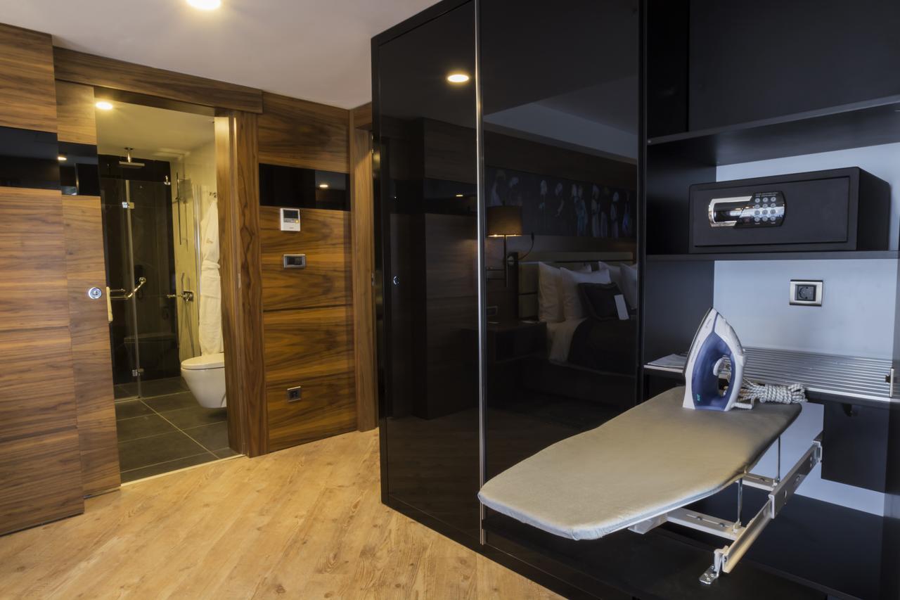 امکانات اتاقهای هتل پارک ددمان در ترابزون