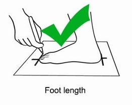 هر سانتی متر طول پا چقدر به سایز کفش اضافه می کند؟