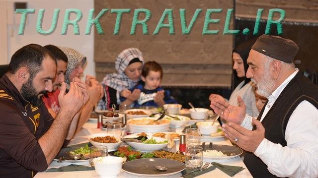افطاری در ترکیه