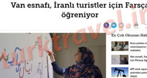زبان فارسی در وان ترکیه