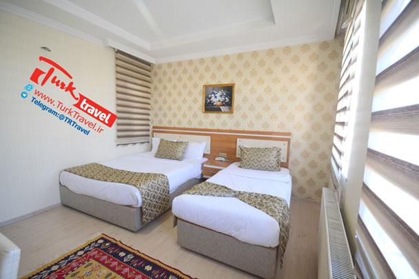 قیمت اتاقهای هتل پارک وان