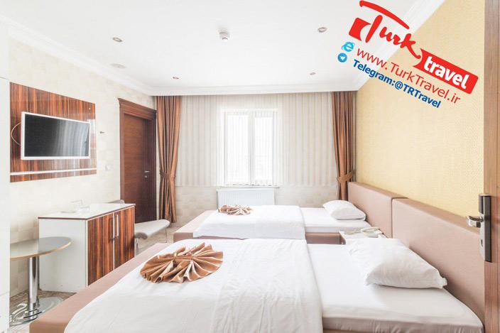کیفیت اتاقهای هتل دوسکو وان (Dosco Hotel Van)