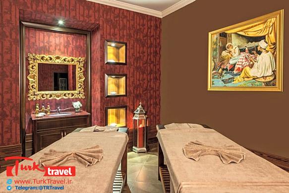 اتاق ماساژ هتل الیت ورلد وان Elite World