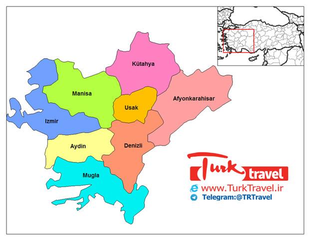راهنمای تقسیمات کشوری ترکیه