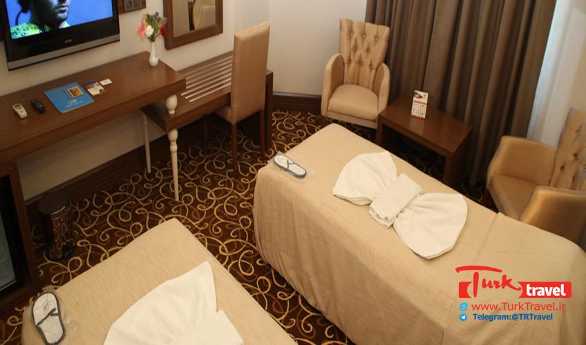 قیمت اتاق در هتل بیوک اورارتو وان