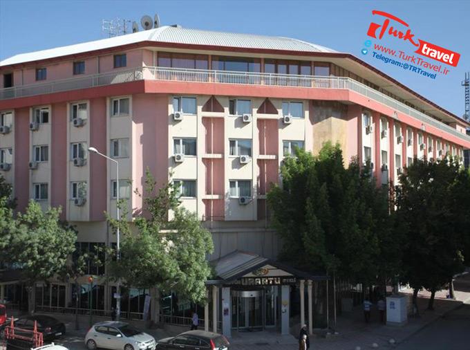 - موقعیت مکانی هتل بیوک اورارتو وان