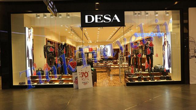 برند مجصولات چرم DESA