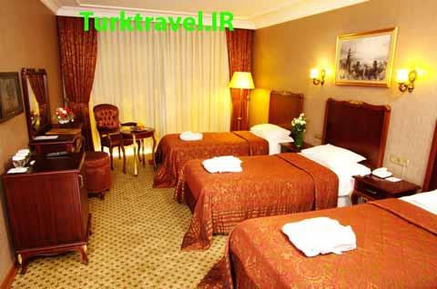 در کدام هتل ترکیه اقامت کنیم؟ اتاق تریپل در هتل ها