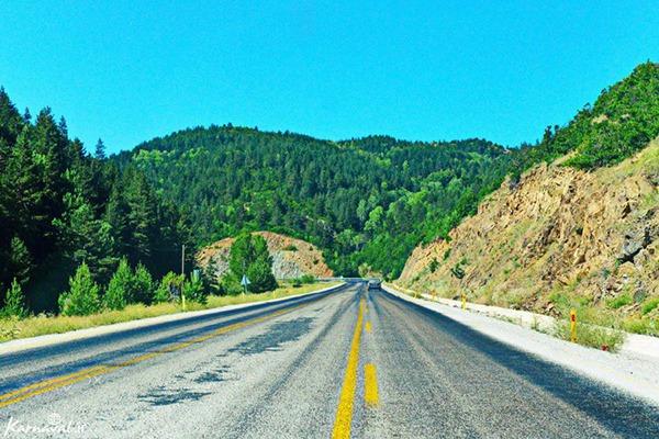 جاده های مسیر بازرگان به ترابزون